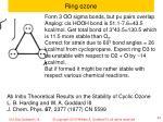 ring ozone