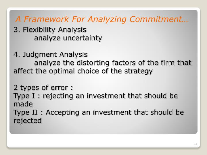 A Framework For Analyzing Commitment…