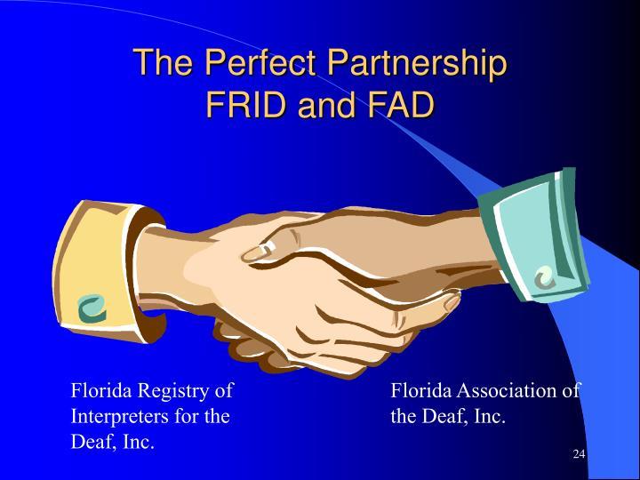 The Perfect Partnership