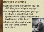 darwin s dilemma