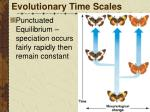 evolutionary time scales2
