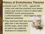 history of evolutionary theories4