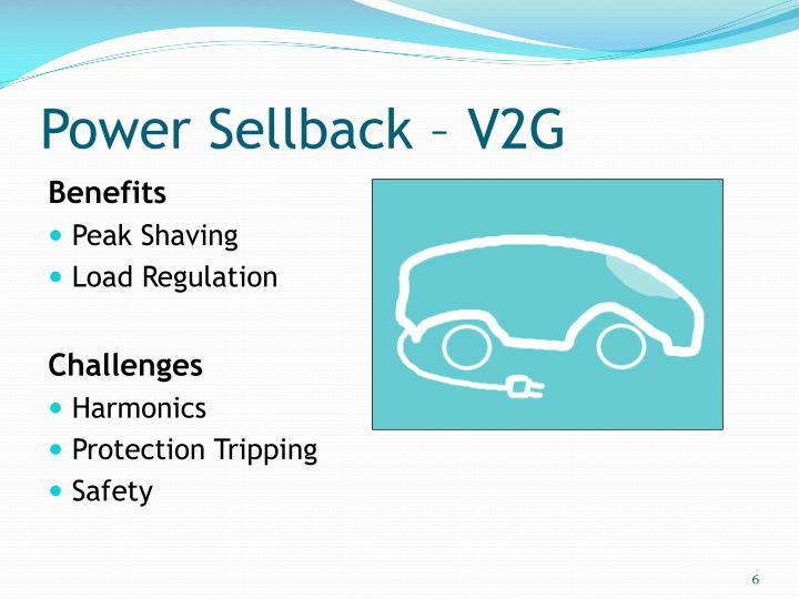 Power Sellback – V2G