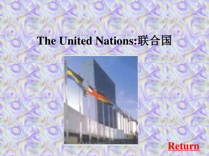 The United Nations: