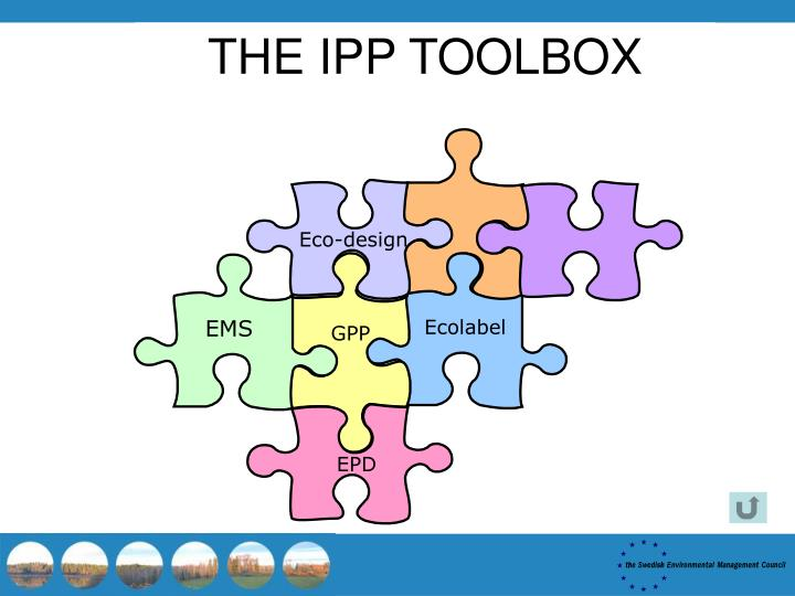 THE IPP TOOLBOX