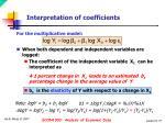 interpretation of coefficients1