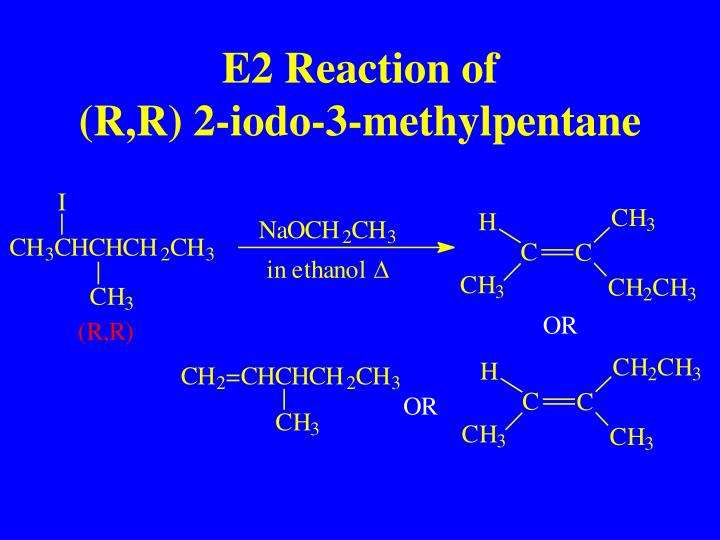 E2 Reaction of
