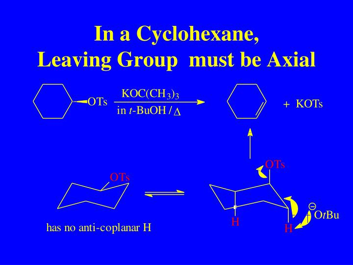 In a Cyclohexane,