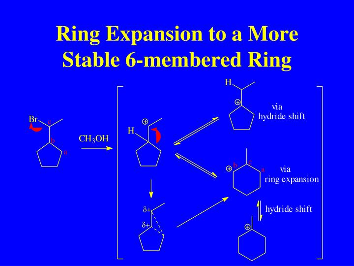 Ring Expansion to a More Stable 6-membered Ring