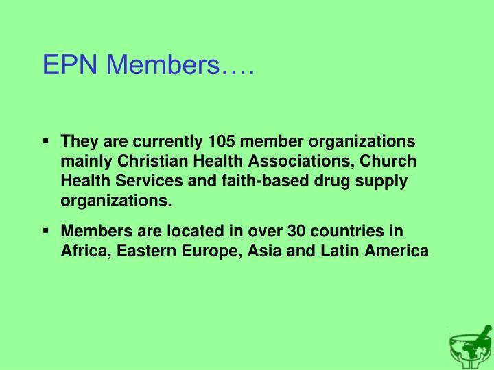 EPN Members….