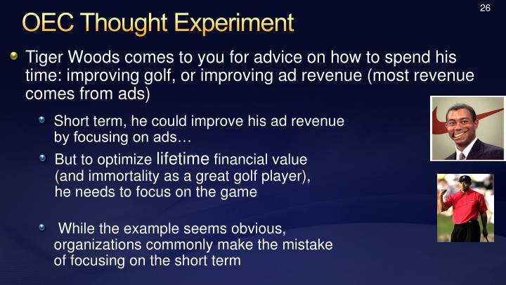 OEC Thought Experiment