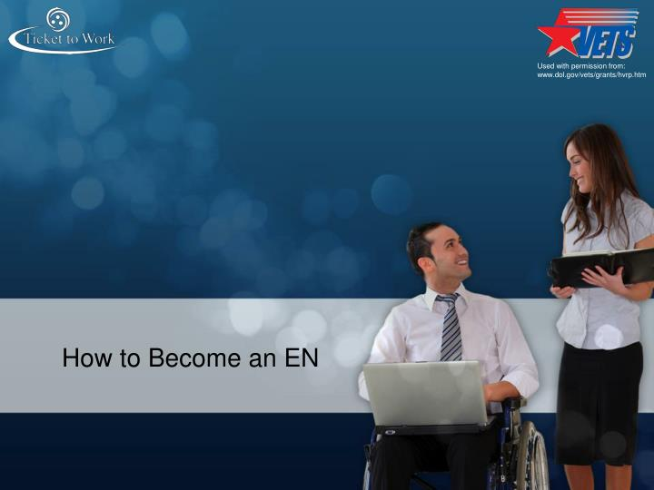 How to Become an EN