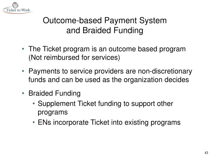 Outcome-based Payment System