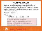 ach vs nach1
