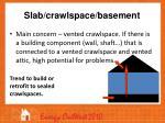 slab crawlspace basement