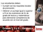 grados 3 5 y 8 gateways