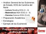 preparandose para los eogs analisis general