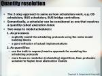 quantity resolution1