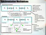 synchronization mechanisms