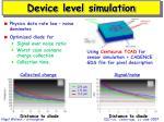 device level simulation1