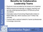 benefits for collaborative leadership teams2