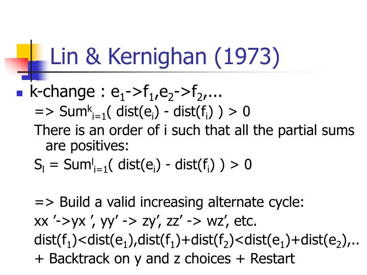 Lin & Kernighan (1973)