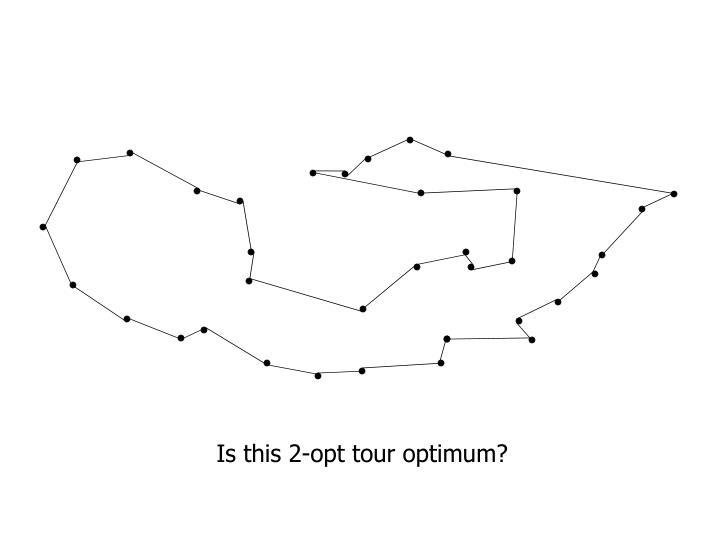 Is this 2-opt tour optimum?