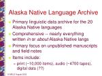 alaska native language archive1