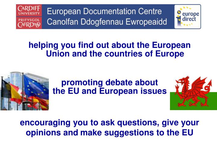 Helping you find out about the European Union and the countries of Europe