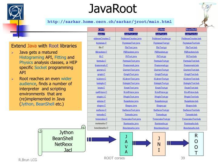 JavaRoot