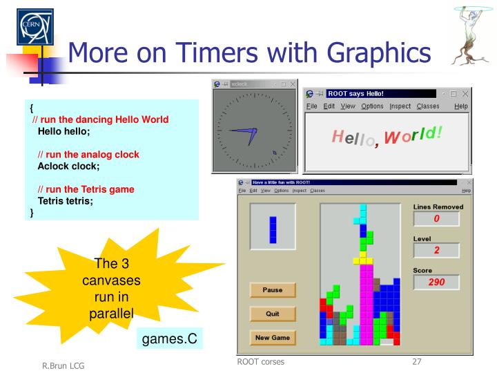 More on Timers with Graphics