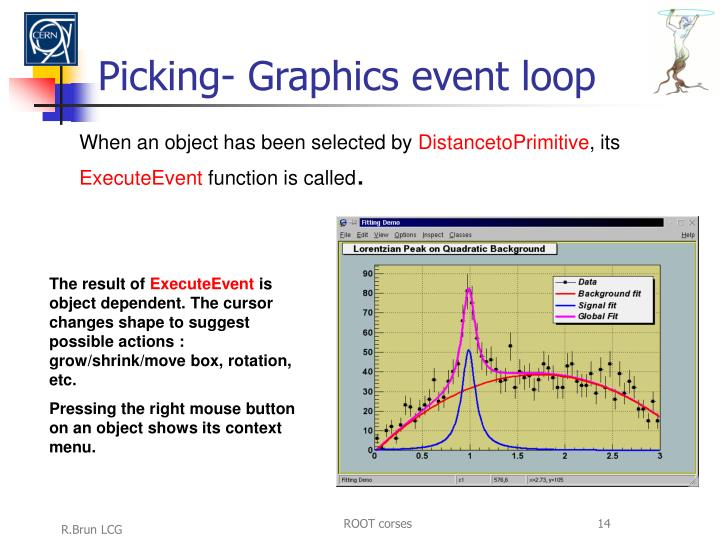 Picking- Graphics event loop