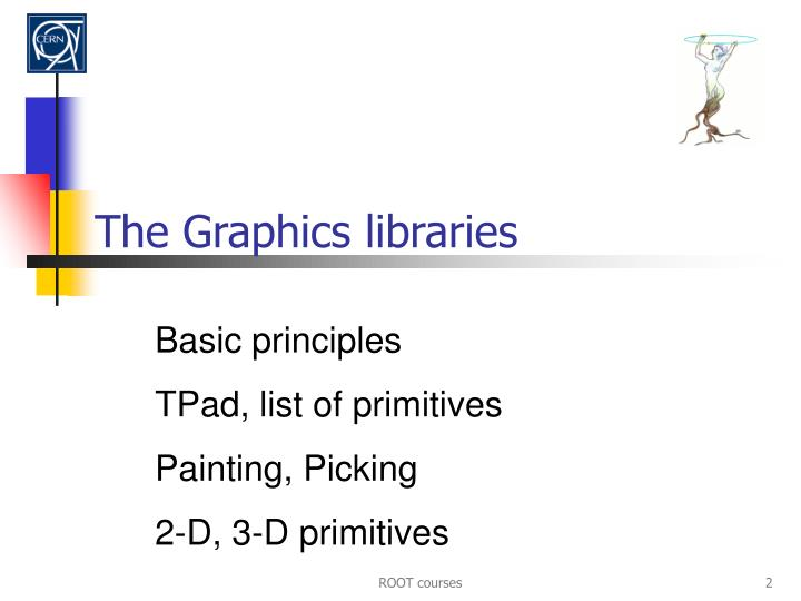 The graphics libraries