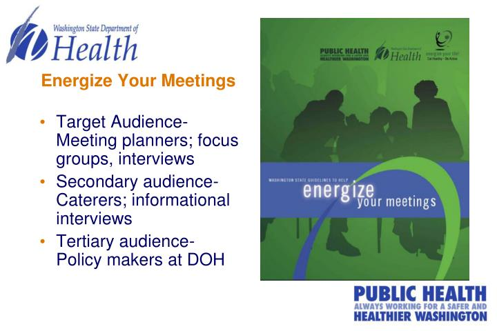 Energize Your Meetings