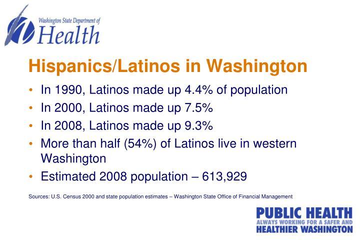 Hispanics/Latinos in Washington