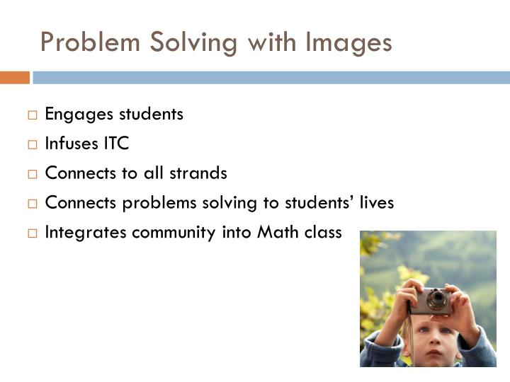 Problem Solving with Images
