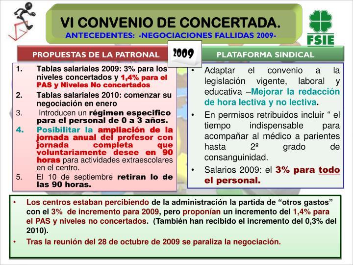 PROPUESTAS DE LA PATRONAL