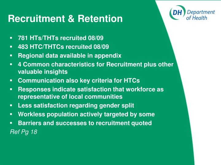 Recruitment & Retention