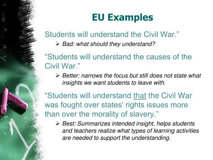 EU Examples