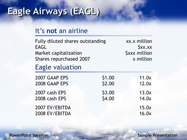 Eagle airways eagl
