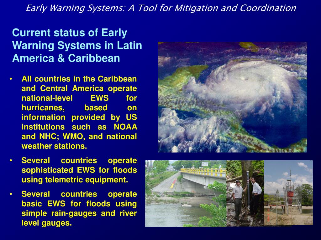 PPT - Early Warning Systems: A Tool for Mitigation and