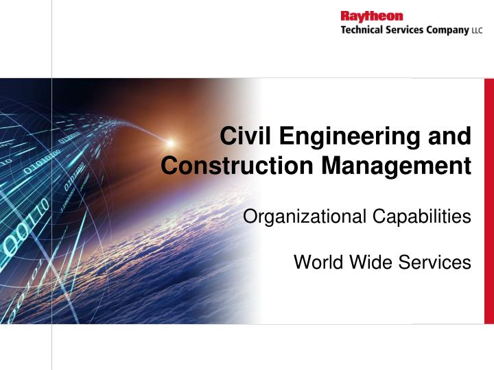civil engineering and construction management n.