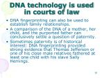 dna technology is used in courts of law2