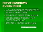 hipotiroidismo subclinico1