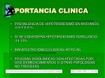 importancia clinica