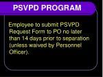 psvpd program2