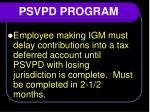 psvpd program4