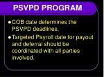 psvpd program5