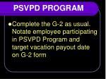 psvpd program6