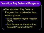 vacation pay deferral program1